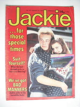 <!--1982-01-16-->Jackie magazine - 16 January 1982 (Issue 941)