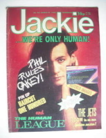 <!--1982-03-27-->Jackie magazine - 27 March 1982 (Issue 951 - Phil Oakey cover)