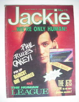 <!--1982-03-27-->Jackie magazine - 27 March 1982 (Issue 951 - Phil Oakey co
