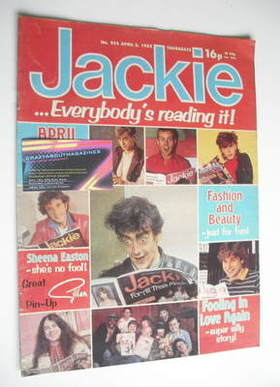 <!--1982-04-03-->Jackie magazine - 3 April 1982 (Issue 952)