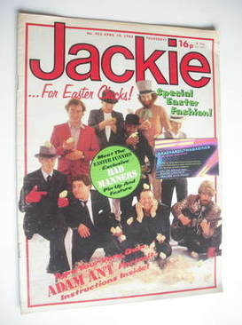 <!--1982-04-10-->Jackie magazine - 10 April 1982 (Issue 953 - Bad Manners c
