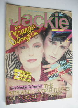 <!--1982-04-24-->Jackie magazine - 24 April 1982 (Issue 955 - Steve Strange