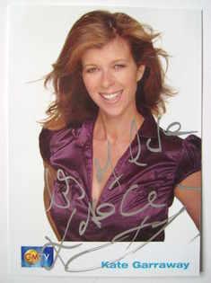 Kate Garraway autograph