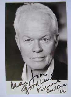 Michael Cochrane autograph