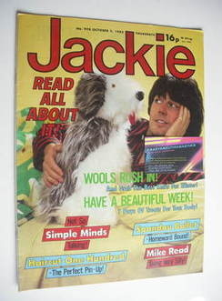 <!--1982-10-02-->Jackie magazine - 2 October 1982 (Issue 978 - Mike Read co