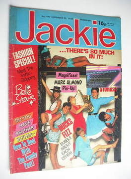 <!--1982-09-25-->Jackie magazine - 25 September 1982 (Issue 977)