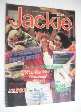 <!--1982-09-19-->Jackie magazine - 18 September 1982 (Issue 976)