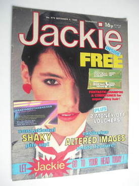 <!--1982-09-04-->Jackie magazine - 4 September 1982 (Issue 974)
