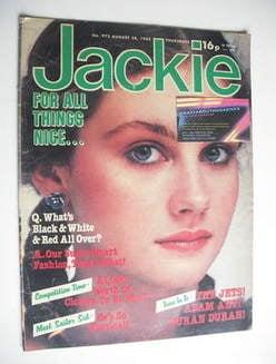 <!--1982-08-28-->Jackie magazine - 28 August 1982 (Issue 973)