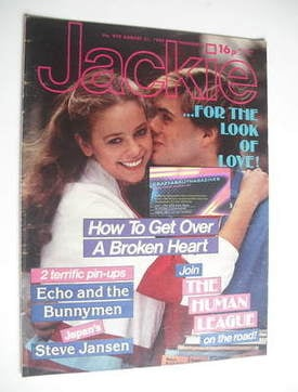 <!--1982-08-21-->Jackie magazine - 21 August 1982 (Issue 972)