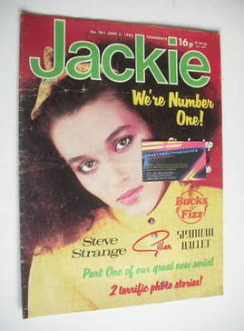 <!--1982-06-05-->Jackie magazine - 5 June 1982 (Issue 961)