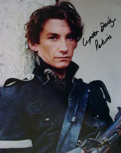 Lyndon Davies autograph