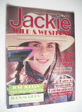 <!--1982-07-03-->Jackie magazine - 3 July 1982 (Issue 965)