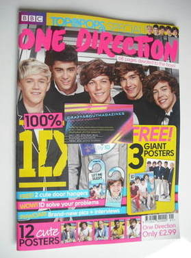<!--2011-08-->Top Of The Pops magazine - One Direction cover (August 2011 -