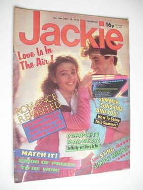 <!--1982-07-10-->Jackie magazine - 10 July 1982 (Issue 966)