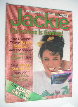 <!--1982-12-18-->Jackie magazine - 18 December 1982 (Issue 989)