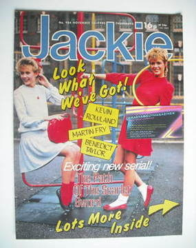 <!--1982-11-13-->Jackie magazine - 13 November 1982 (Issue 984)