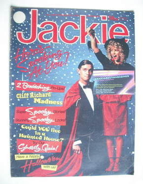 <!--1982-10-30-->Jackie magazine - 30 October 1982 (Issue 982)