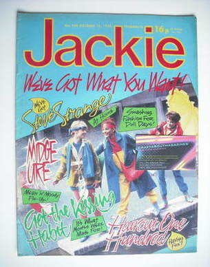 <!--1982-10-16-->Jackie magazine - 16 October 1982 (Issue 980)