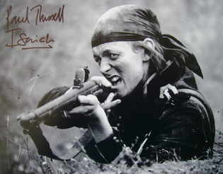 Paul Trussell autograph