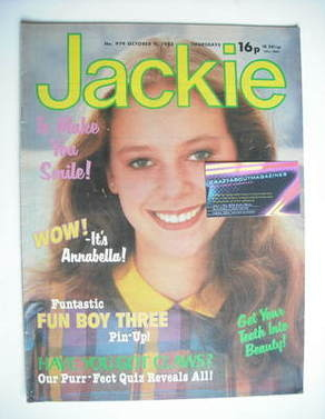 <!--1982-10-09-->Jackie magazine - 9 October 1982 (Issue 979)