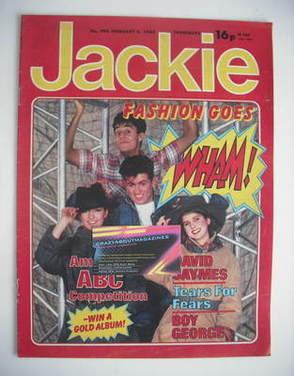 <!--1983-02-05-->Jackie magazine - 5 February 1983 (Issue 996 - Wham cover)