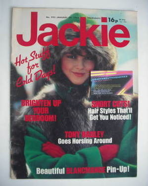 <!--1983-01-29-->Jackie magazine - 29 January 1983 (Issue 995)