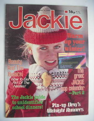 <!--1983-01-08-->Jackie magazine - 8 January 1983 (Issue 992)