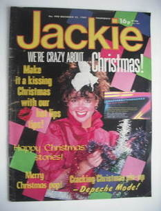 <!--1982-12-25-->Jackie magazine - 25 December 1982 (Issue 990)