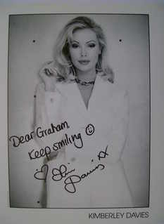 Kimberley Davies autograph