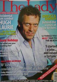<!--2011-08-16-->The Lady magazine (16 August 2011 - Hugh Laurie cover)