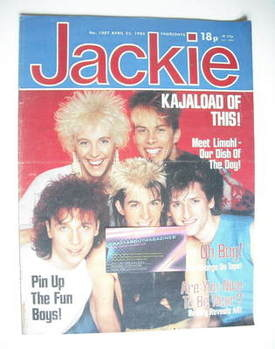 <!--1983-04-23-->Jackie magazine - 23 April 1983 (Issue 1007)