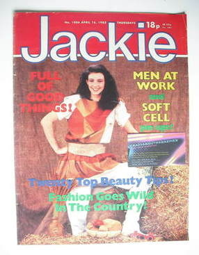 <!--1983-04-16-->Jackie magazine - 16 April 1983 (Issue 1006)