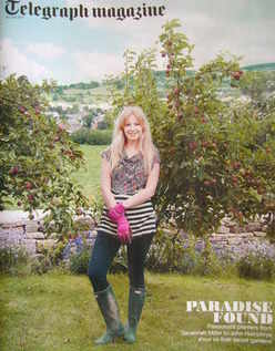 <!--2011-07-30-->Telegraph magazine - Savannah Miller cover (30 July 2011)