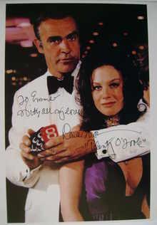 Lana Wood autograph