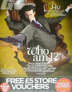 <!--2011-08-07-->Live magazine - Matt Smith cover (7 August 2011)