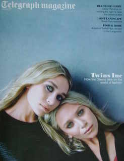 <!--2011-08-20-->Telegraph magazine - Ashley Olsen and Mary-Kate Olsen cove