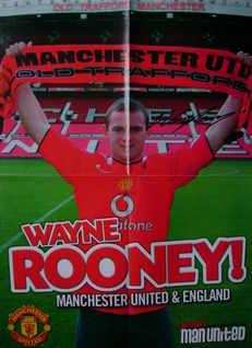Wayne Rooney autograph
