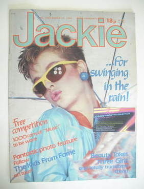 <!--1983-03-19-->Jackie magazine - 19 March 1983 (Issue 1002)
