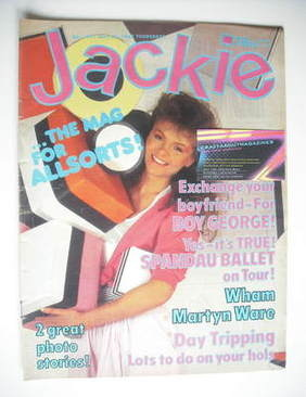 <!--1983-07-30-->Jackie magazine - 30 July 1983 (Issue 1021)
