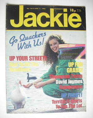 <!--1983-06-11-->Jackie magazine - 11 June 1983 (Issue 1014)