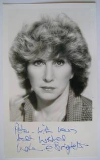 Valerie Singleton autograph