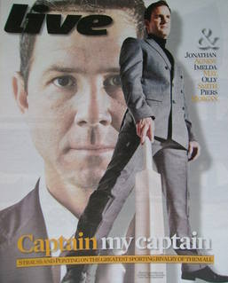 <!--2010-11-21-->Live magazine - Andrew Strauss and Ricky Ponting cover (21