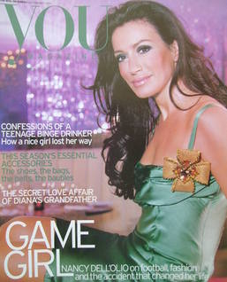 <!--2005-02-20-->You magazine - Nancy Dell'Ollio cover (20 February 2005)