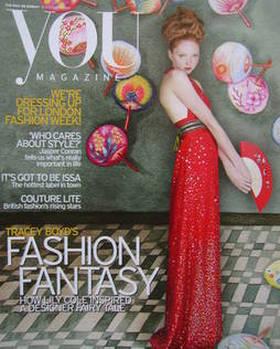 <!--2005-09-18-->You magazine - Lily Cole cover (18 September 2005)