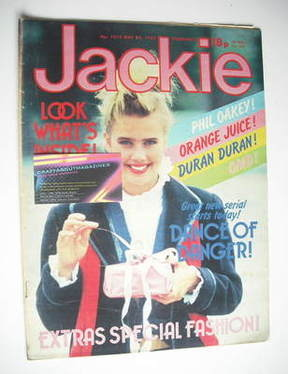 <!--1983-05-28-->Jackie magazine - 28 May 1983 (Issue 1012)