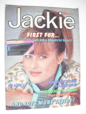 <!--1983-05-07-->Jackie magazine - 7 May 1983 (Issue 1009)