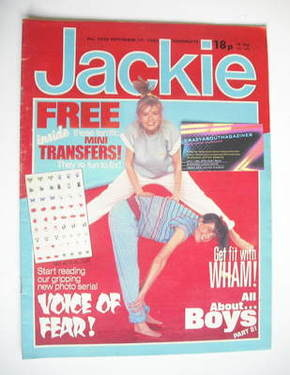 <!--1983-09-17-->Jackie magazine - 17 September 1983 (Issue 1028)