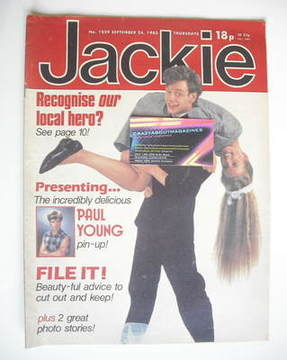 <!--1983-09-24-->Jackie magazine - 24 September 1983 (Issue 1029 - John Gor