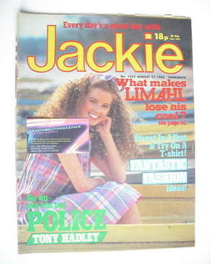 <!--1983-08-27-->Jackie magazine - 27 August 1983 (Issue 1025)